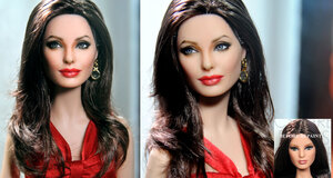 angelina_jolie_custom_doll_art_repaint_by_noeling-d66c9zl