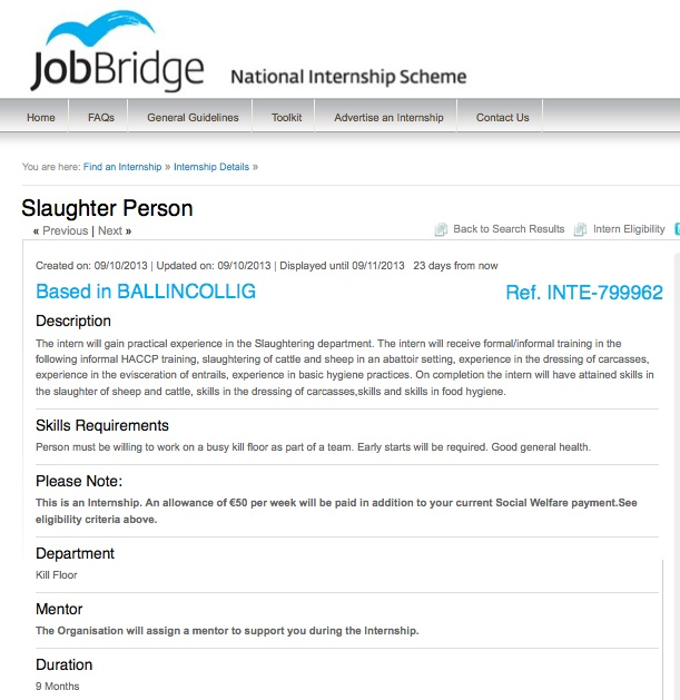 job bridge
