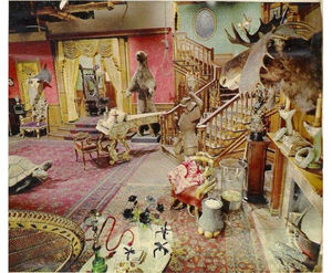Addams-Family-Living-Room-in-Color