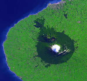 Mount-Taranaki-from-Space