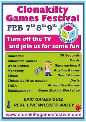 Games Festival poster