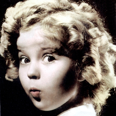 Image result for rouge cheeks cute shirley temple