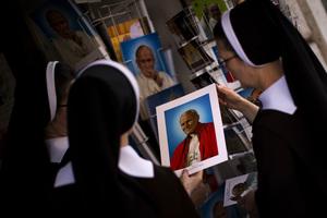 Vatican Pope Canonizations