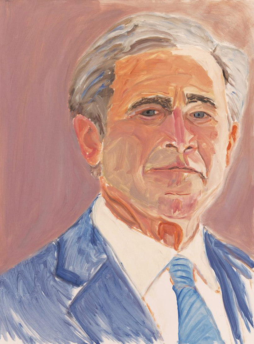 george-w.-bush-exhibits-30-painted-portraits-of-world-leaders-designboom-07