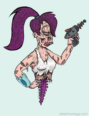 Zombie-Iconic-Pop-Culture-Characters-by-Albert-5