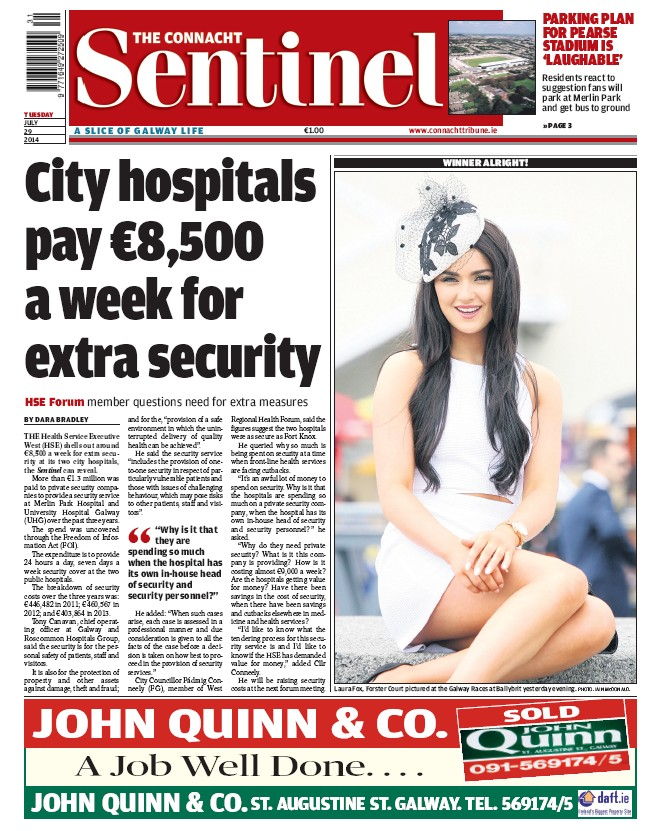 Connacht Sentinel July 29