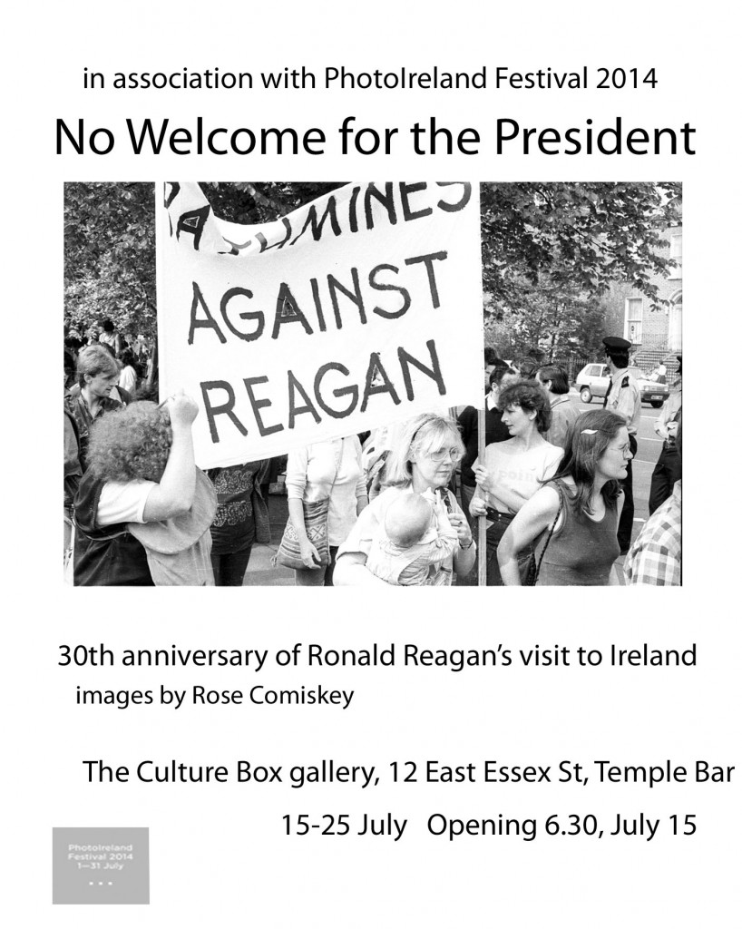 Invite to Exhibition-No Welcome for the President-1