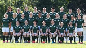 The Ireland women's team photo 31/7/2014