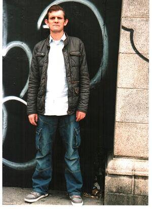 tommo doorway portrait