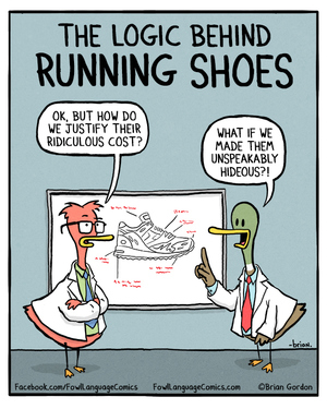 running-shoes