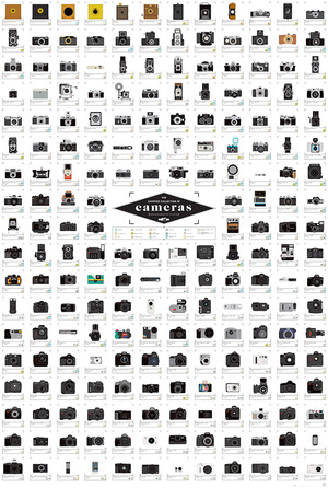 The-Charted-Collection-of-Cameras--nbsp-collection-of-200-cameras-from