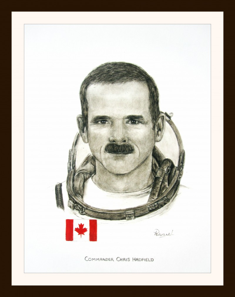 Pervaneh -  Astronaut Chris Hadfield