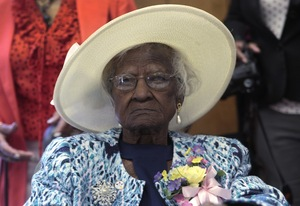 115 years old - Jeralean Talley (b. May 23, 1899), American