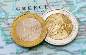 euros in greece
