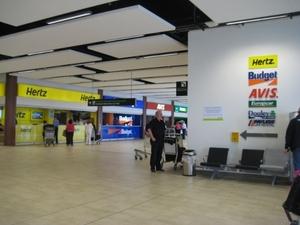 Dublin Airport T2 - car hire desks, Dublin Airport car hire