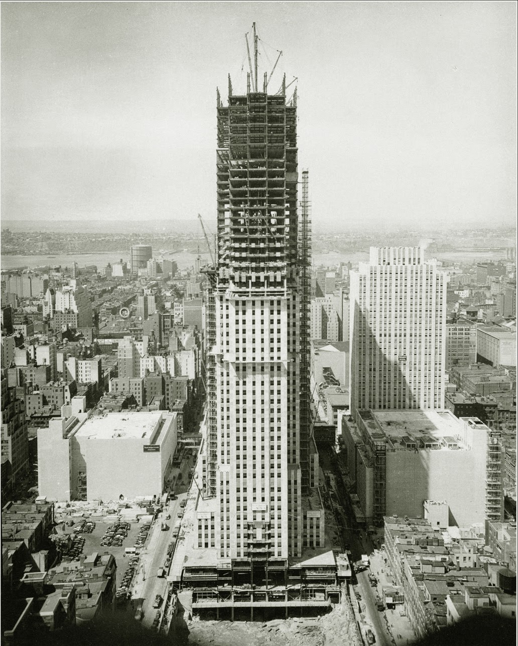 empire state early 1930s
