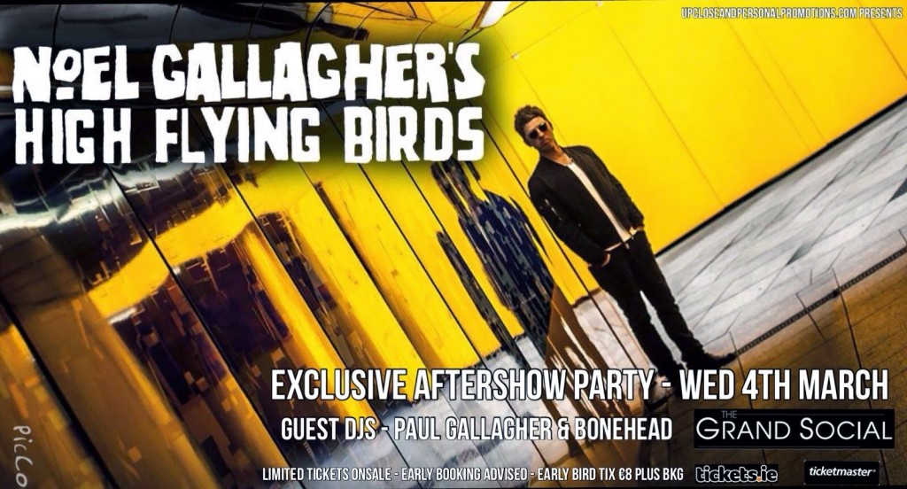 Noel+Gallagher+High+Flying+Birds+Aftershow+Party