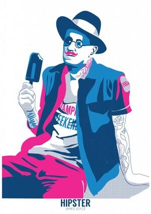 gary-reddin-print-dublin-hipster-james-joyce
