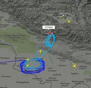 Kathmandu skies