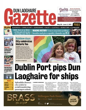 DUN LAOGHAIRE FRONT PAGE MAY 28