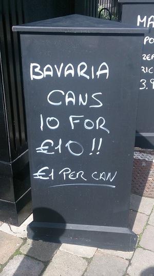 Barvarian Maths