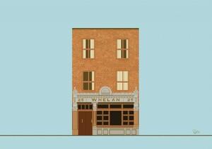 donal-mangan-print-dublin-whelans-pub