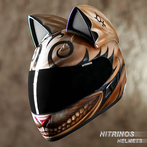 Cat-Head-Motorcycle-Helmets-2