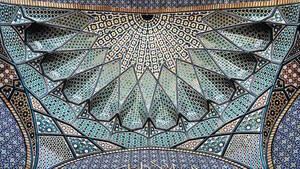 Hazrate-Masomeh's mosque in Qom, Iran,