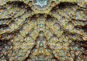 Hazrate-Masomeh's mosque in Qom
