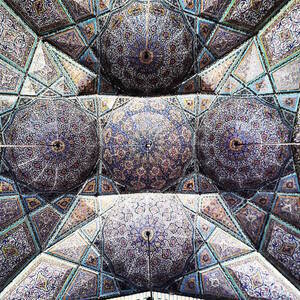 Nasir-Al-Molk's mosque in Shiraz,Iran