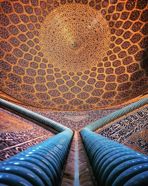 Sheikh Lotfollah mosque in Esfahan, Iran