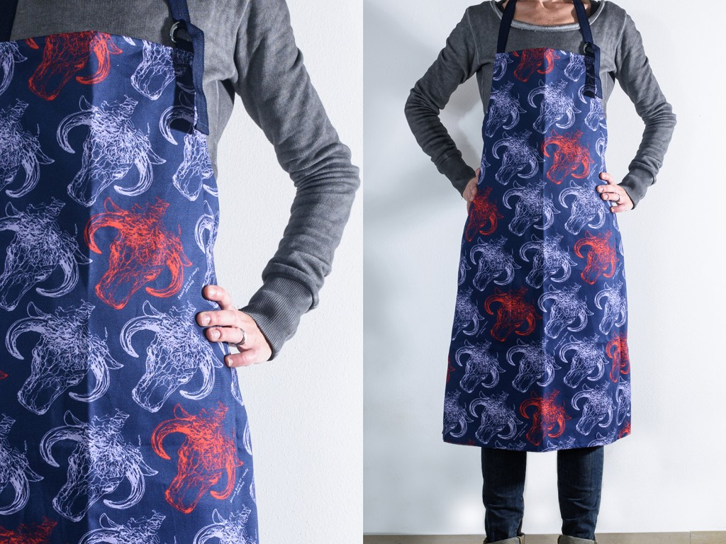 Brown Bull of Cooley Apron by Duinn Designs(1)