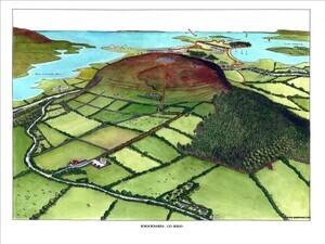 Knocknarea map