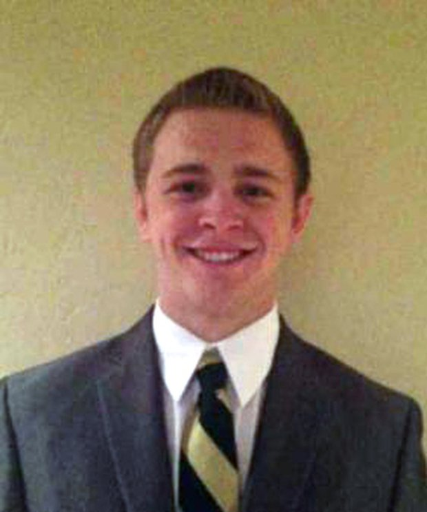 This undated photo provided by The Church of Jesus Christ of Latter-Day Saints shows Mormon missionary Mason Wells, 19, of Sandy, Utah, who was injured in Tuesday's explosion at the Brussels airport. Mormon church officials say three missionaries including Wells were seriously injured in the Brussels airport attack. (Mormon Church via AP)