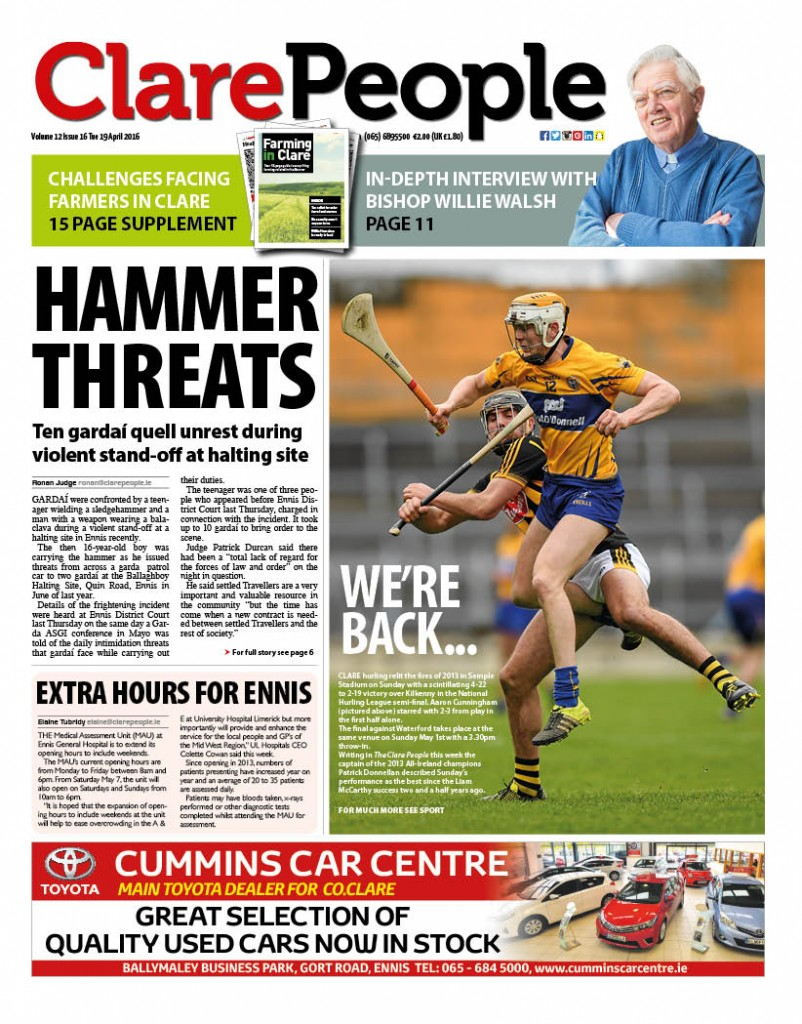 Clare People Cover