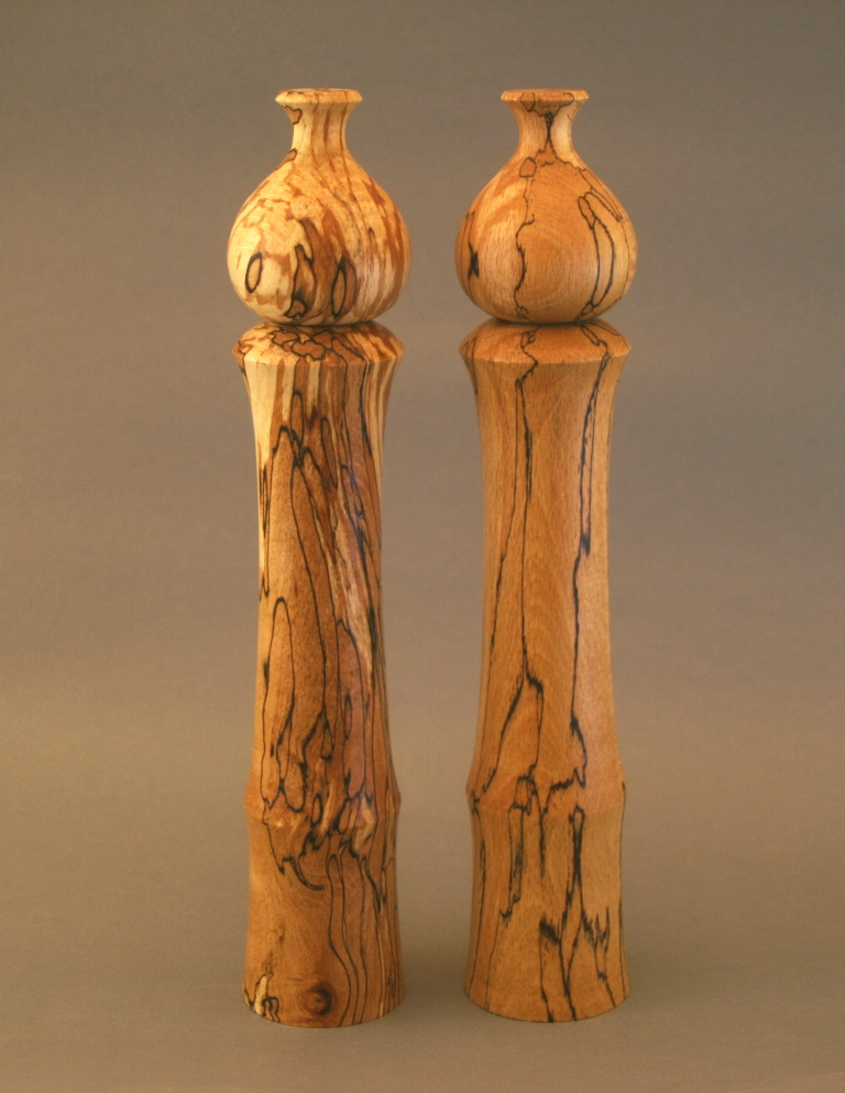Large Salt and Pepper Mills by Johnny McCarthy at The Irish Workshop