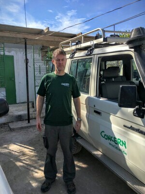 concern-worldwide-emergency-programme-manager-peter-doyle-in-haiti