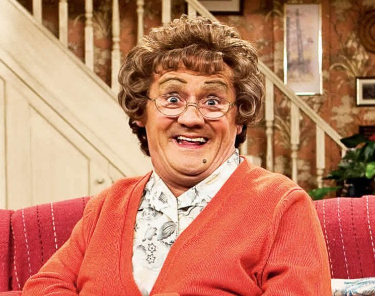 Brendan O_'Carroll as Mrs Brown