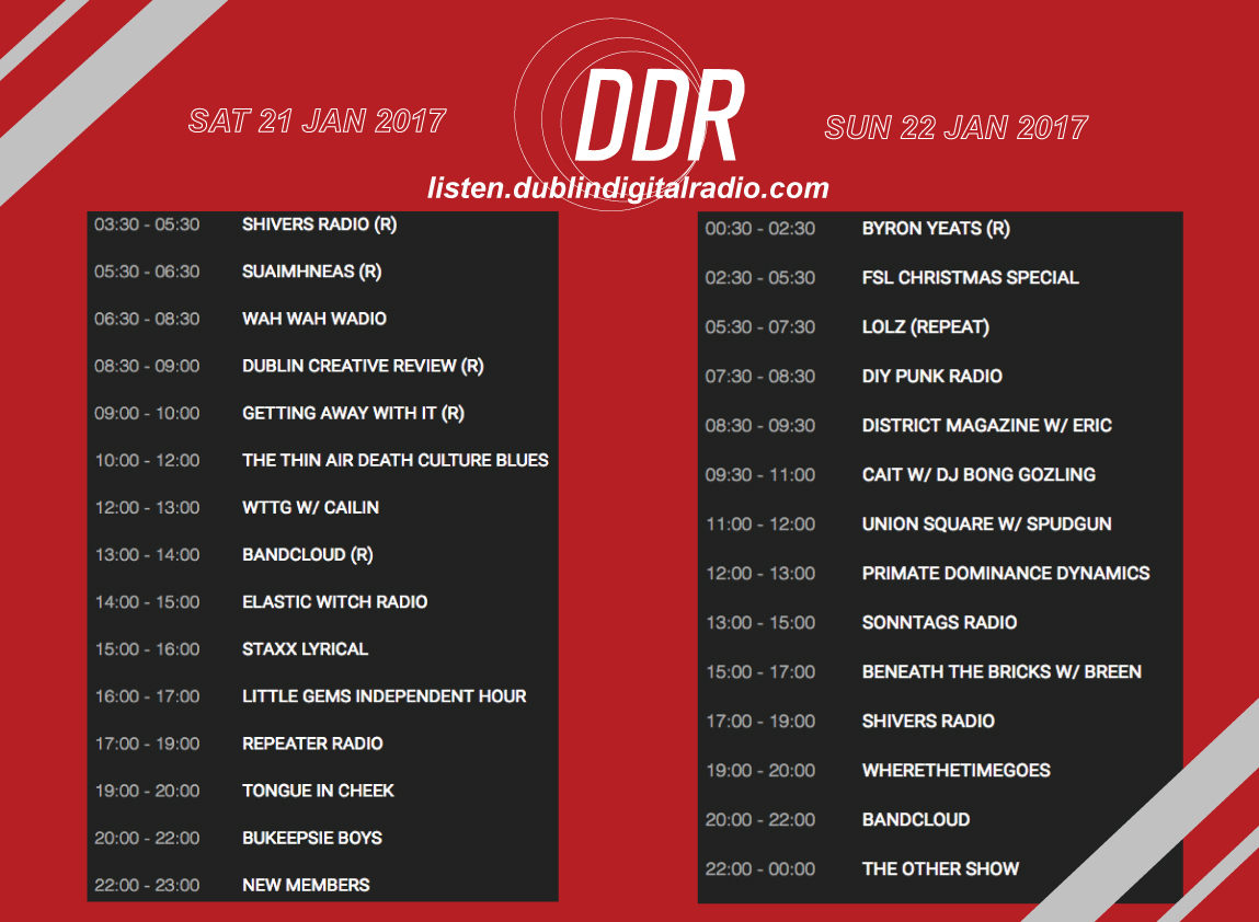 DDR-wkend-21-22-jan-2017