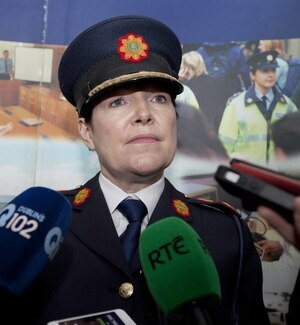 "File photo: Garda Commissioner Noirin O'Sullivan has issued a statement in relation to the Garda whistleblower story involving garda sgt Maurice McCabe, in which she states "" My position remains unchanged. Nothing has emerged in the last three weeks which in any way changes that situation. A campaign of false accusations, repeated and multiplied, do not make me guilty of anything. I have made it clear that I was not part of any campaign to spread rumours about Sergeant McCabe and didn't know it was happening at the time it was happening. I have repeatedly refuted that claim and do so again. The easiest option for me would be to step aside until the Commission finishes its work. I'm not taking that option because I am innocent and because An Garda Síochána, under my leadership, has been making significant progress, with the help of our people, the Government, the Policing Authority and Garda Inspectorate, in becoming a beacon of twenty first century policing"". End. 15/9/2014. Under Pressure. Garda Interim Commissioner Noirin O'Sullivan, under pressure as she responds to media questions regarding the latest claims by garda whistle blower SGt Maurice McCabe that there have been furter garda abuses of the penalty points system. They were speaking as the minister arrived at the Garda College in Templemore in County Tipperary to meet new recruits. Photo Eamonn Farrell/RollingNews.ie"