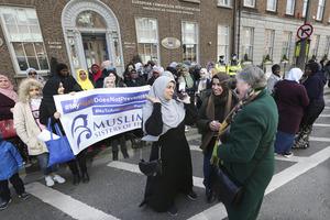0021 European hijab ban protest_90506271