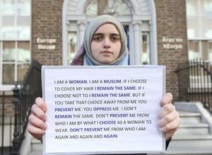 0065 European hijab ban protest_90506267