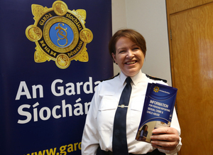 2/3/2017. Launch - Child Sex Abuse Phoneline. Garda Commissioner Noirin O Sullivan launching a dedicated 24 Hour phoneline for victims of child sex abuse at the Garda Command & Control Centre in Dublin this morning. Photo: Sam Boal/RollingNews.ie