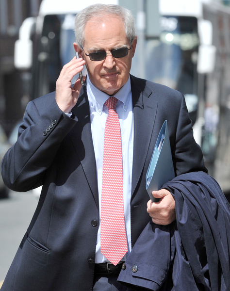 17/05/2013. Health Committee on Protection of Life during Pregnancy Bill. Dr Peter Boylan from the National Maternity Hospital, pictured arriving at Leinster House for the Health Committee hearings on the Protection of Life during Pregnancy Bill that the Fine Gael Labour Party Government plan to introduce. Photo: Laura Hutton/Photocall Ireland