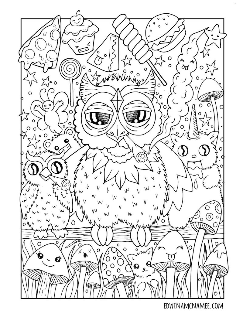 Colouring Book Broadsheet Ie